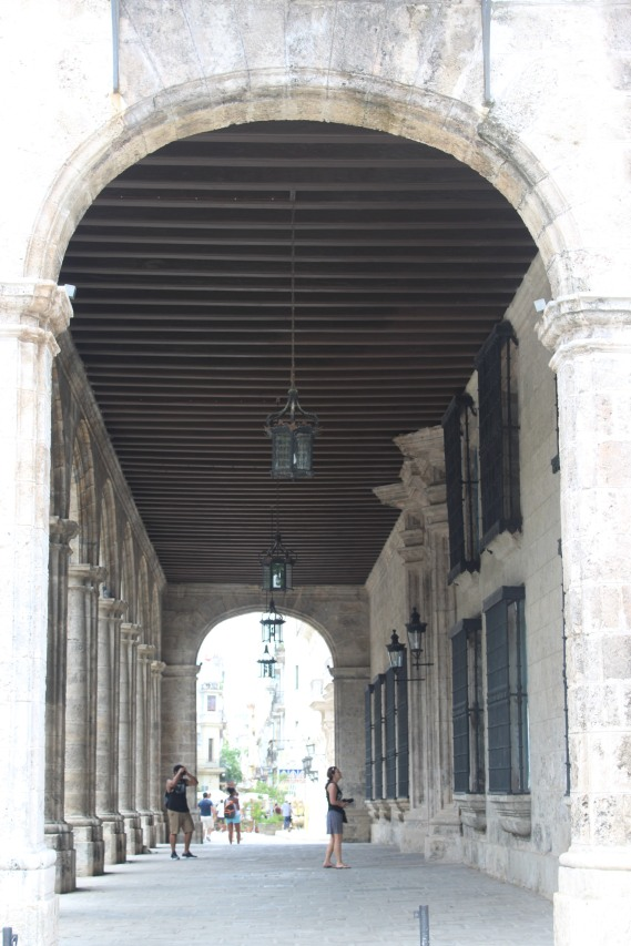 Corridor in Habana